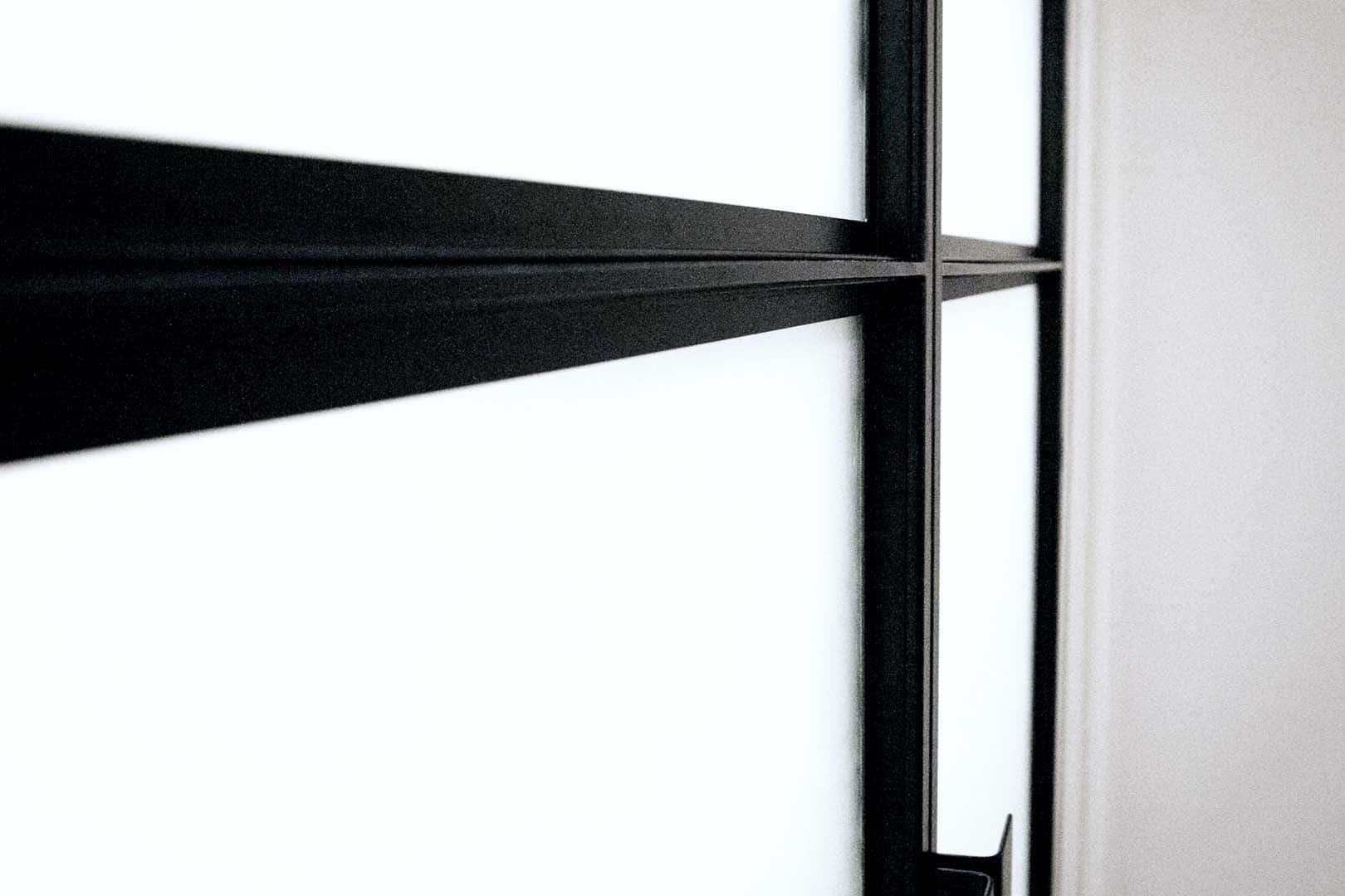 Liggers van dubbele taatsdeuren
