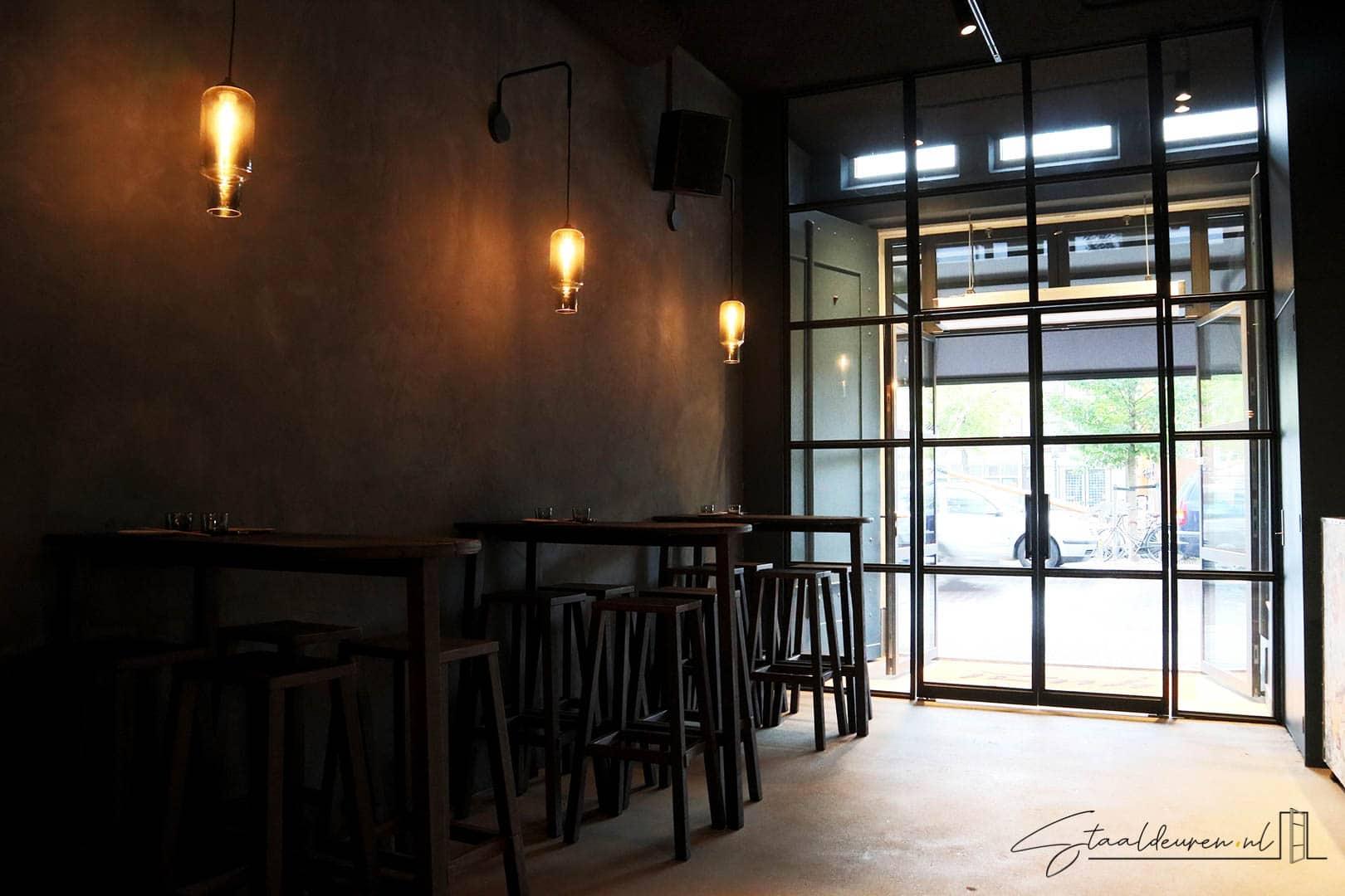 Stalen entree restaurant Yuzu